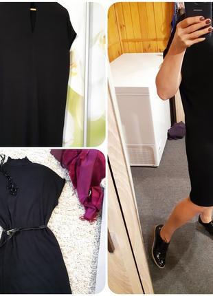 Стильное платье туника оверсайз,soyaconcept, p. m-l