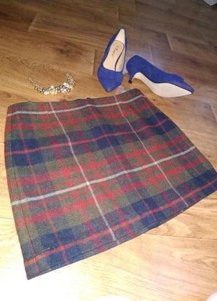 Кледчатая юбка