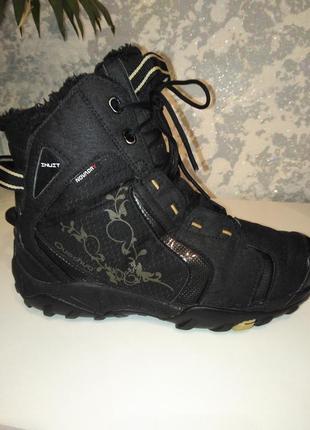 Зимние термо ботинки quechua novadry 36 р, 22,5 см