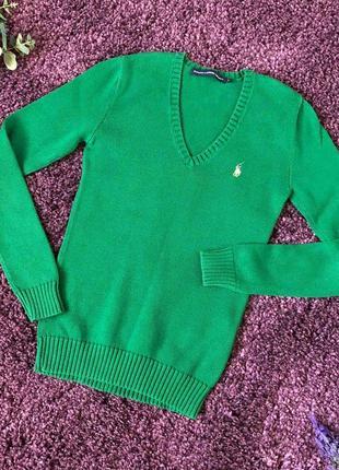 Оригинальный свитерок ralph lauren размер s-xs