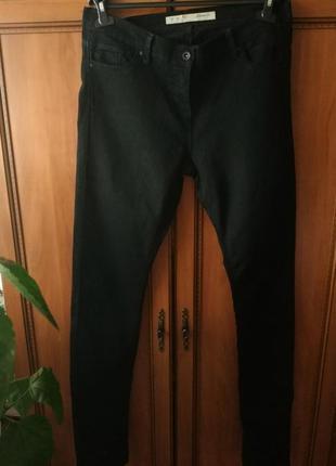 Черные джинсы-скинни на высокий рост