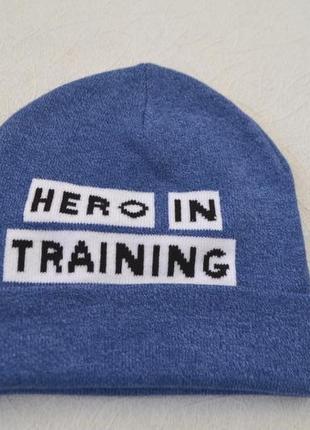 Двойная шапка h&m 110\128, 4-8 лет