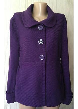Распродажа - деми-пальто *divided by h&m* eu42 р. - 50% шерсть
