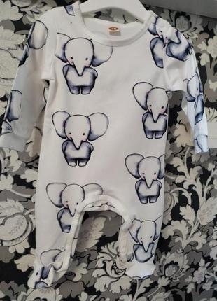 Человечек со слониками на рост 70.