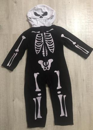Костюм скелета, хеллоуин