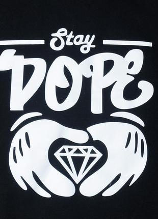 Світшот кофта лонгслів stay dope s