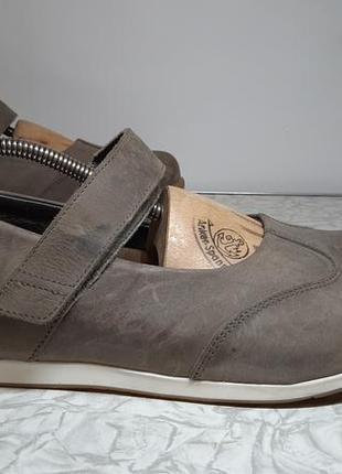 Кожаные туфли,ботинки,балетки birkenstock (биркенсток)