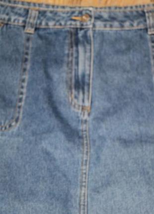 Джинсовые юбка george в идеальном состоянии 3xl
