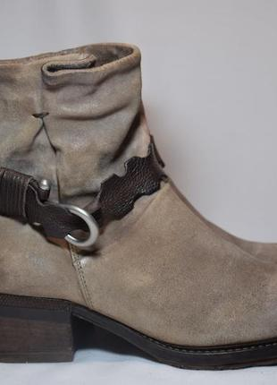 Ботинки a.s. 98 airstep ботильоны сапоги женские кожаные италия оригинал 39-40р/26.5см