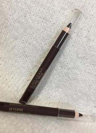 Карандаш для глаз estee lauder double wear stay in place 02 coffee оригинал