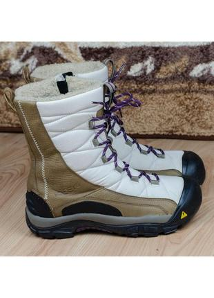 Зимние женские теплые термосапоги ботинки keen сапоги 41р. 27 см.