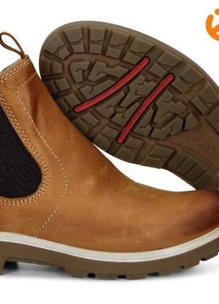 Новые кожаные ботинки челси ecco gora оригинал 37 р.