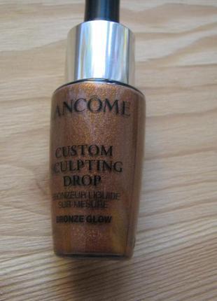 Lancome custom sculpting drop bronze glow бронзовый хайлайтер 7мл