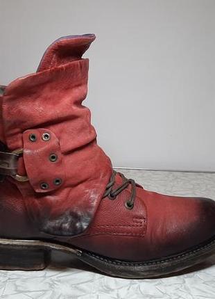 Кожаные фирменные сапоги,ботинки airstep(эирстеп)