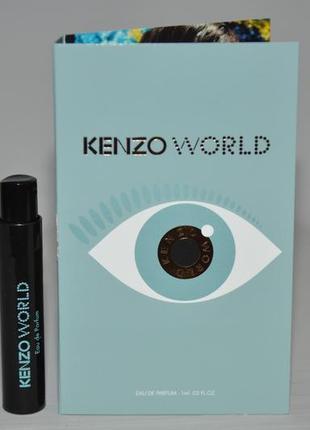 Пробник kenzo world оригинал