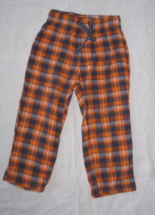 Пижамные штаны на резинке