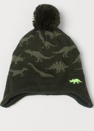 Теплые шапки h&m  на 8-12 лет