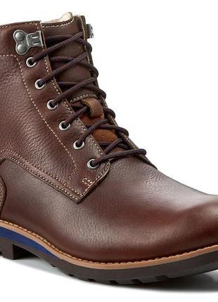 Мужские ботинки clarks gore-tex 29.5/30см