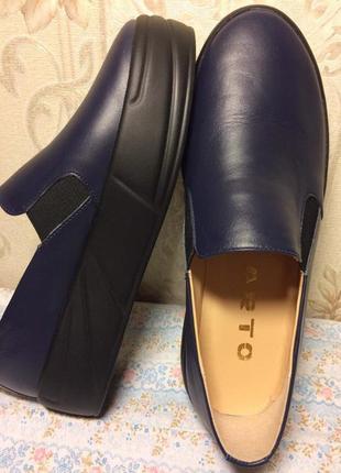 Туфли кожаные, 38