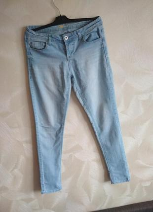 Голубые джинсы скины