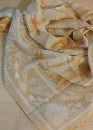 Roma нежный  шелковый платок