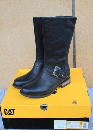Новые сапоги cat кожа сша 39,39,5,40,41 оригинал ботинки caterpillar