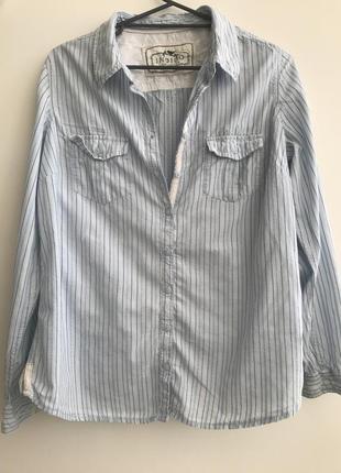 Рубашка indigo collection marks&spenser p16 100%cotton #11