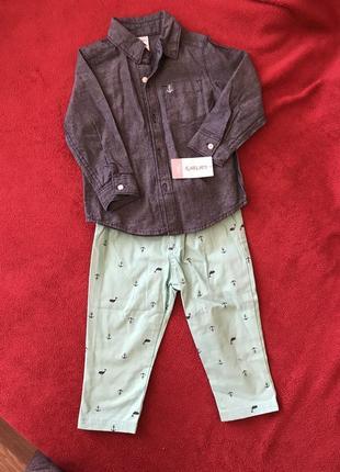 Нарядный костюм carter's для мальчика 80 - 86см