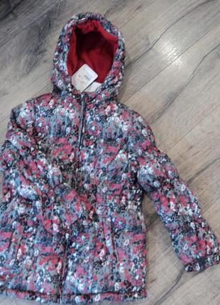 Зимняя куртка тополино  р 122