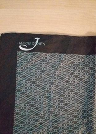 Jacob cohen  шейный платок люкс бренда