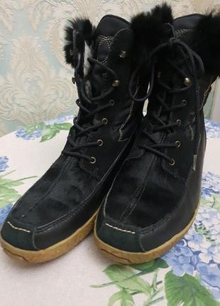 Женские зимние ботинки лыжные tecnica