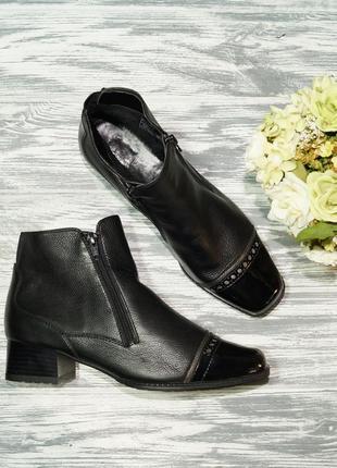 🌿бесплатная доставка🌿39🌿ara. кожа. комфортные фирменные ботинки