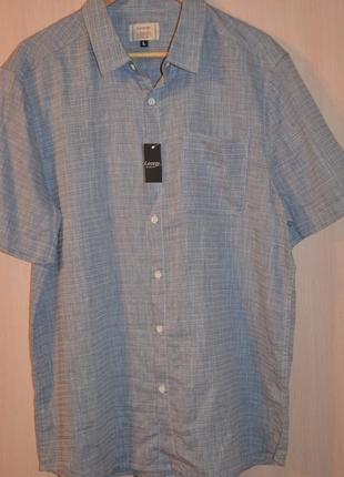 Хлопковая рубашка george paзм l