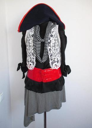Пиратка костюм карнавальный 42-44