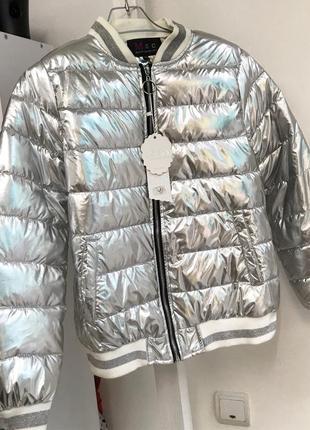 Теплая  куртка дутик
