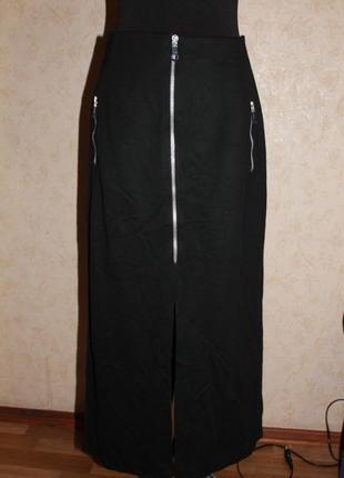 Тёплая длинная юбка с разрезом дёшево недорого почти даром распродажа sale