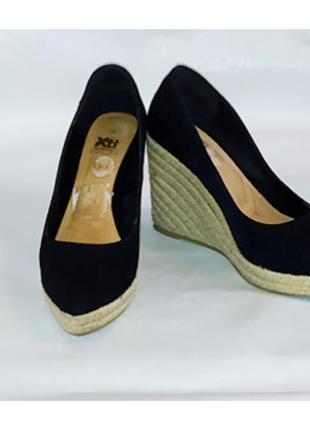 Туфли на плетенной платформе! размер 37!