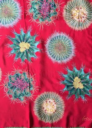 Шёлковый платок палантин шарф fabric frontline