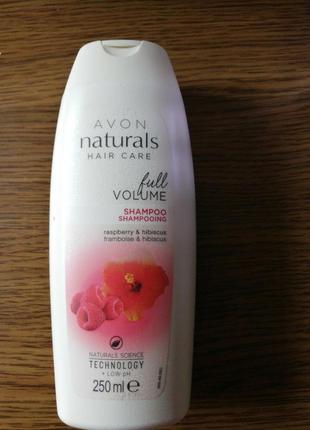 Шампунь для волосся «неперевершений об'єм. малина та гібіскус»