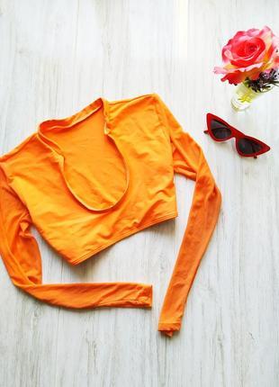 Яркий оранжевые топ 😻