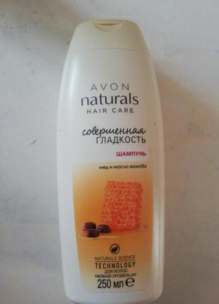 Шампунь для волосся «досконала гладкість. мед та олія жожоба»