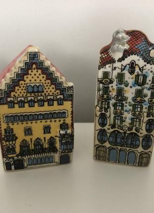 Солонка и перечница домики барселона