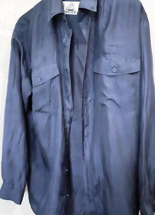Pacific, блуза рубашка шелк