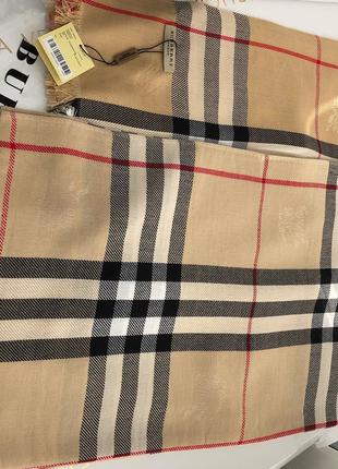 Кашемировый шарф палантин шаль