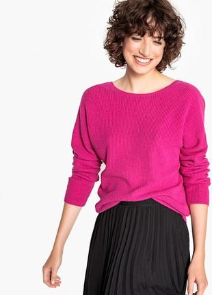 Джемпер свитер кофточка конфетно-розового оттенка marks & spencer