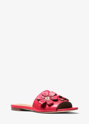 Шлепанцы michael kors tara sandal