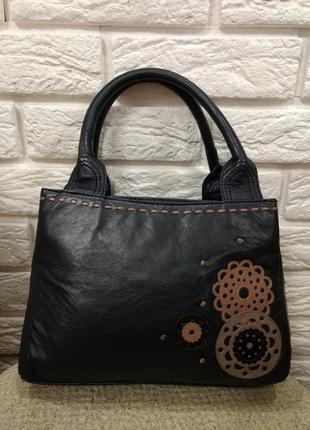 Дизайнерская кожаная сумка от debenhams