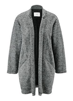 Теплое стильное плотное пальто, tchibo(германия) размер наш 54-56