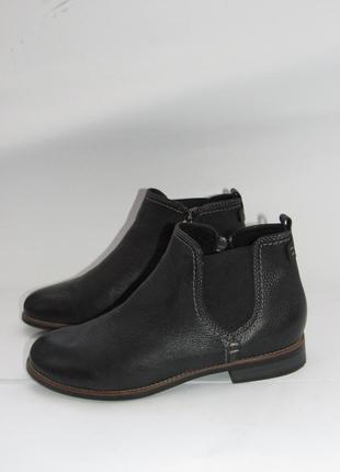 5 th avenue германия шикарные качественные кожаные ботинки-челси b23