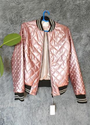 Куртка сжемчугом